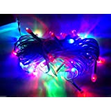 10 Sets Of RGB LED Rice Lights Strings Chain For DIWALI Decoration By TECHYSHOP
