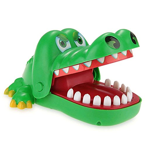 Billig geediar krokodil biss finger ziehen z hne spiel for Geschenke billig