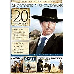 20-Film Great American Westerns: Shootouts 'N Showdowns