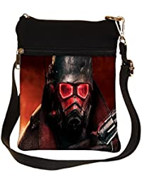Snoogg Red Eye Army Cross Body Tote Bag / Shoulder Sling Carry Bag