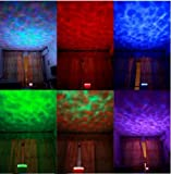 DUSIEC Ocean Relax Projector Pot Music Input,ocean Light,ocean Lamp,music Projection