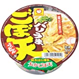 【ケース販売】バリうま ごぼ天うどん 89g×12個