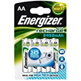 Energizer Extreme Rechargeable AA 2300mAh Batteries - 4 pack - Pre-Charged