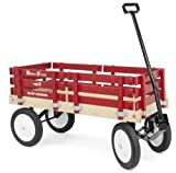 Berlin F310 Amish-Made Flyer Wagon, Red