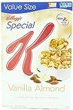 Kelloggs Special K Cereal, Vanilla Almond, 16.3 Ounce