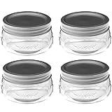 Jarden Home Brands #1440061160 4PK 8OZ Platinum Jar