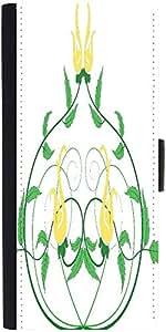 Snoogg Decorative Flourish Framedesigner Protective Flip Case Cover For Sony ...