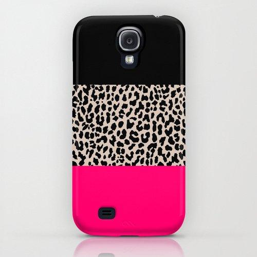 society6 Leopard National Flag IV iPhone GALAXY ケース [並行輸入品] (Samsung Galaxy S4)