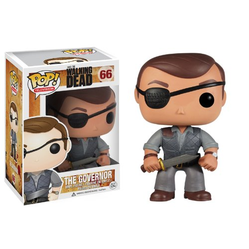 Funko POP Television Walking Dead: Governor Vinyl Figure - 1