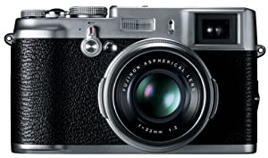Fujifilm X100 12.3 MP APS-C CMOS EXR Digital Camera with 23mm Fujinon Lens and 2.8-Inch LCD