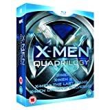 X-Men Quadrilogy - X-Men, X-Men 2, X-Men: The Last Stand & X-Men Origins: Wolverine (4 Disc Box Set) [Blu-ray]