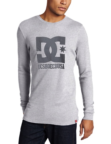 DC Shoes RD USA Thermal Men's Jumper Heather Grey Small