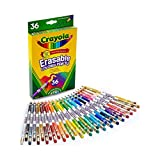 Crayola Erasable Colored Pencils, 36 Count, Art Tools, Ages 4, 5, 6, 7