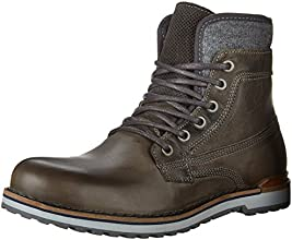 Aldo Men's Prearia Mid-Cut Winter Boot, Brown Suede, 10 D US