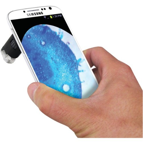Brand New Carson Led Microscope With Galaxy S4 Adapter