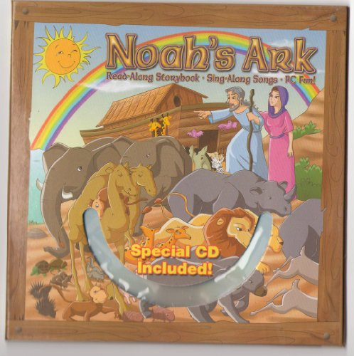 Noah'S Ark Bible Story Book With Cd front-626363