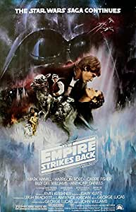 Star Wars- The Empire Strikes Back Movies Poster Print, 27x40 Poster Print, 27x40