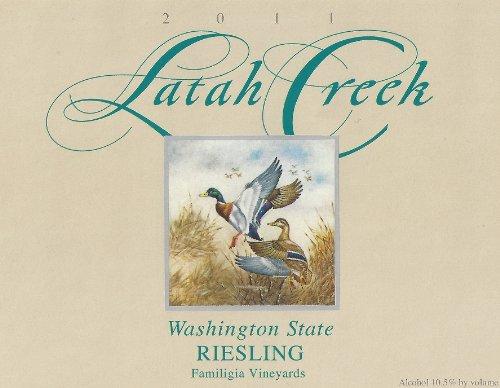 2011 Latah Creek Winery Riesling Columbia Valley 750 Ml