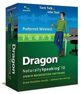 Dragon NaturallySpeaking 10 Preferred Wireless [Old Version]