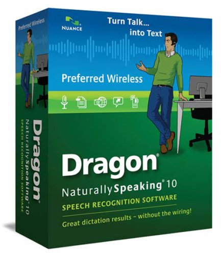 Dragon NaturallySpeaking 10 Preferred Wireless (English)