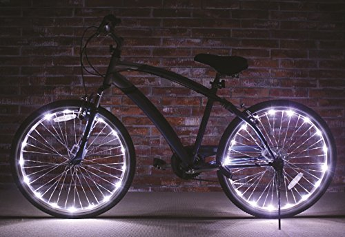 Brightz, Ltd. White Wheel Brightz LED Bicycle Light