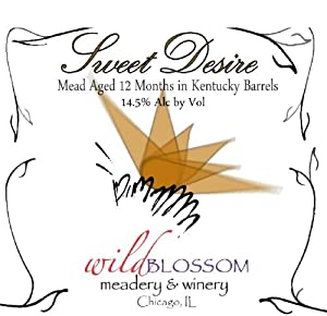 NV Wild Blossom Meadery & Winery Sweet Desire Mead 500 mL