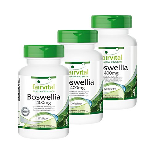Boswellia Weihrauch 400mg 2 plus 1 (360 Tabletten)