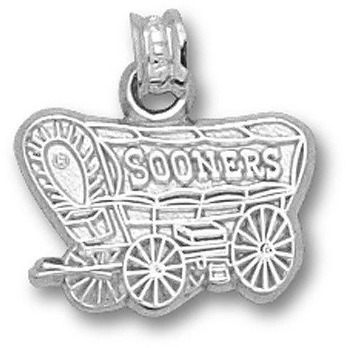 Oklahoma Sooners OU NCAA Sterling Silver Charm