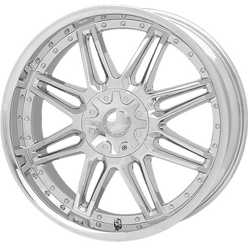 American Racing Cartel 20x8.5 Chrome Wheel / Rim 6x4.5 with a 18mm Offset and a 71.50 Hub Bore. Partnumber AR62828568