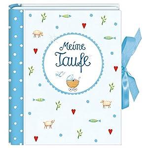 Meine Taufe (hellblau): Kleines Foto-Einsteckalbum (Verkaufseinheit)