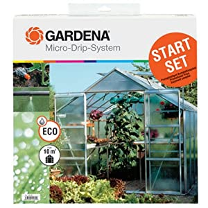 Gardena 1403 Micro-Drip Starter Set For Greenhouses