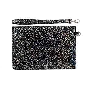DooDa PU Leather Pouch Case Cover With Magnetic Closure & Video Viewing Stand For Lenovo Ideatab A1000