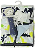 Carter's Velour Sherpa Blanket with Rattle, Lion