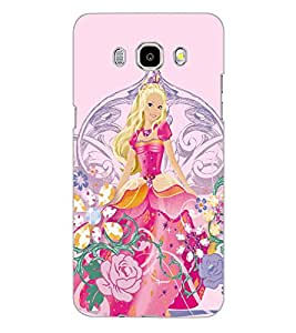 SAMSUNG GALAXY J5 2016 PRINCES Back Cover by PRINTSWAG