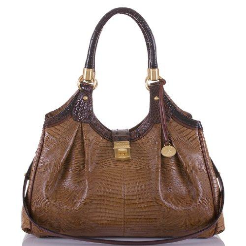 Elisa Hobo Bag<br>Tri-Texture Fawn