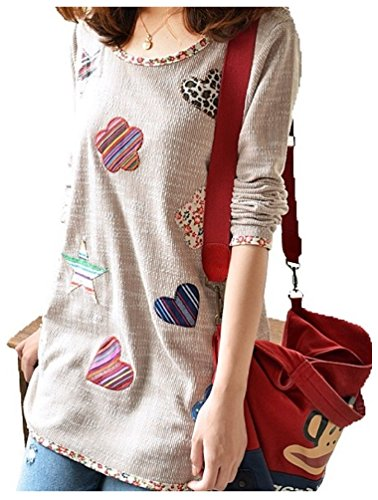 Shape shirt long sleeve women's khaki s