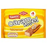 Tunnock's Caramel Log Wafer Biscuits 4 x 32g Case of 18