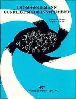 thomas kilmann conflict mode instrument pdf
