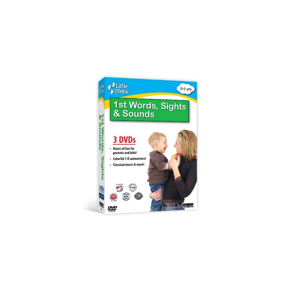 Baby einstein animal discovery cards toys amp games on popscreen - Little Steps First Words Sights Sounds