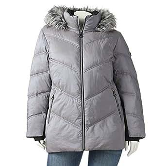 ZeroXposur Hooded Puffer Jacket Women's PLUS WINTER COAT