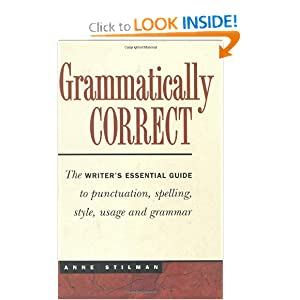 Grammatically Correct - Anne Stilman