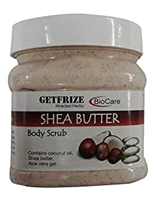 Biocare Shea Butter Body Scrub 500Ml
