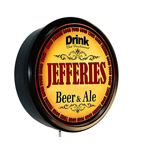 JEFFERIES Beer and Ale Cerveza Lighted Wall Sign (Jeffery Beers compare prices)