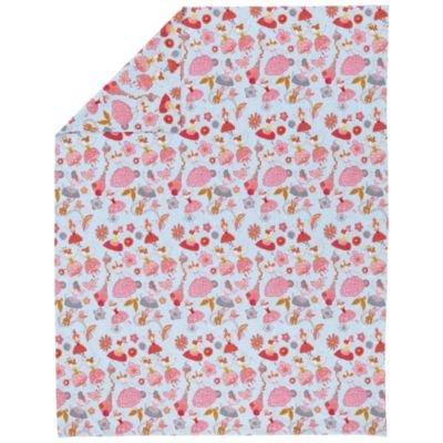 Girl Bedding: Twin Plie Duvet Cover front-245710