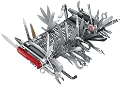 Worlds largest Swiss Army knife ... Exciting but  a bit too much!