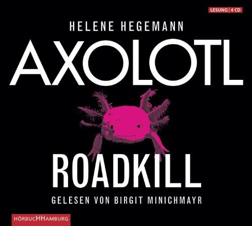 Axolotl Roadkill: 4 CDs, Buch