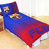 Barcelona FC Fade Reversible Single Duvet Cover and Pillow Case Set