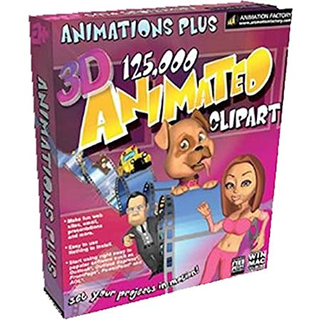 Animations Plus 125,000 (PC & Mac)