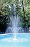 Sparkling 3-Tier Swimming Pool Fountain