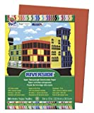 Riverside Construction Paper, 76 lbs., 9 x 12, Holiday Red, 50 Sheets/Pack, Sold as 1 Package